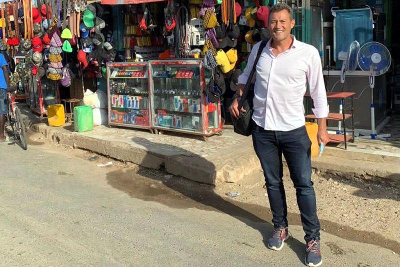Jean Craven in Dakar, Senegal