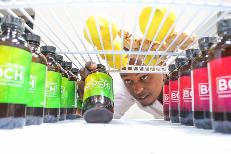 Booch kombucha is aimed at health conscious Kenyan consumers.