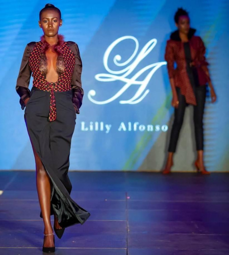 Models showcasing Lilly Alfonso designs.