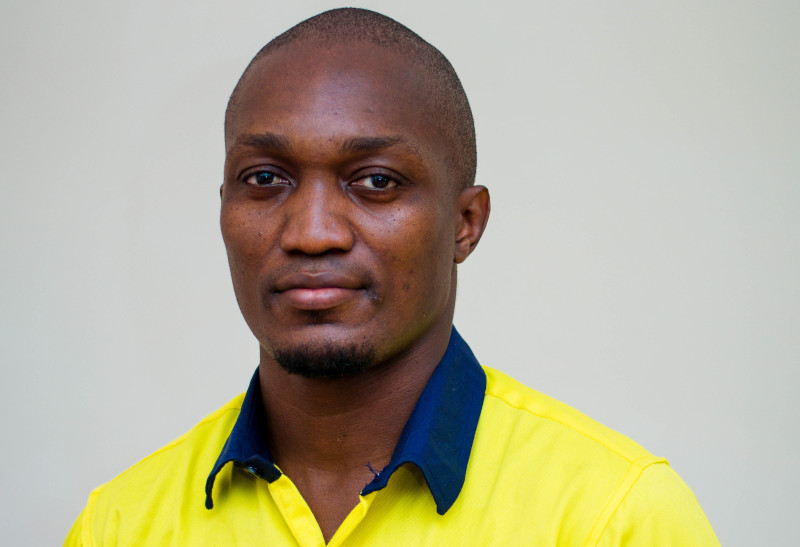 Edmond Nonie, the co-founder of Track Your Build