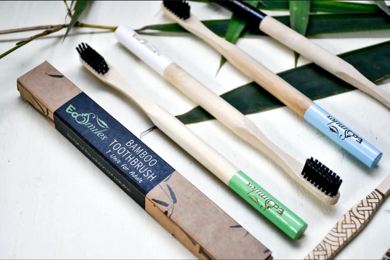 Kenya-based Eco-Smiles manufactures toothbrushes made from bamboo.