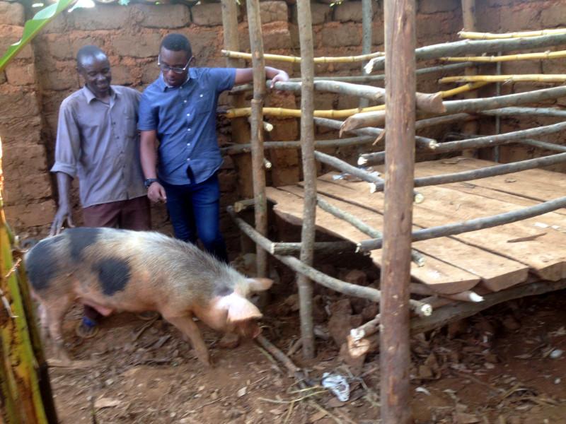 Herve Tuyishime founded Rwanda-based Paniel Meat Processing in 2012.