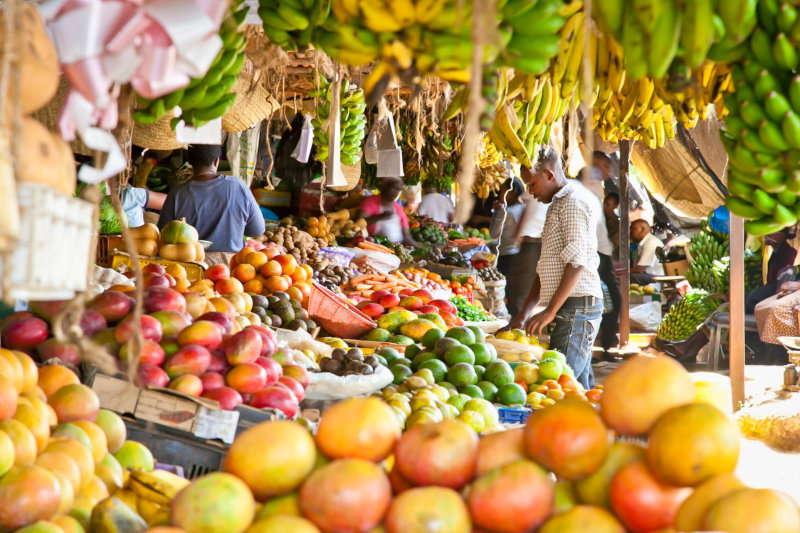 Afrikamart makes it easier for shopkeepers to buy fresh produce.