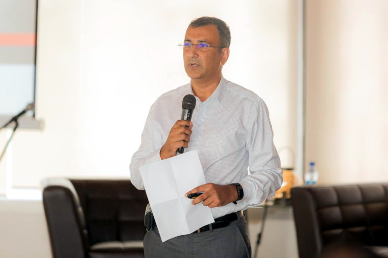 Iqbal Omar, chief executive of PPC Barnet DRC