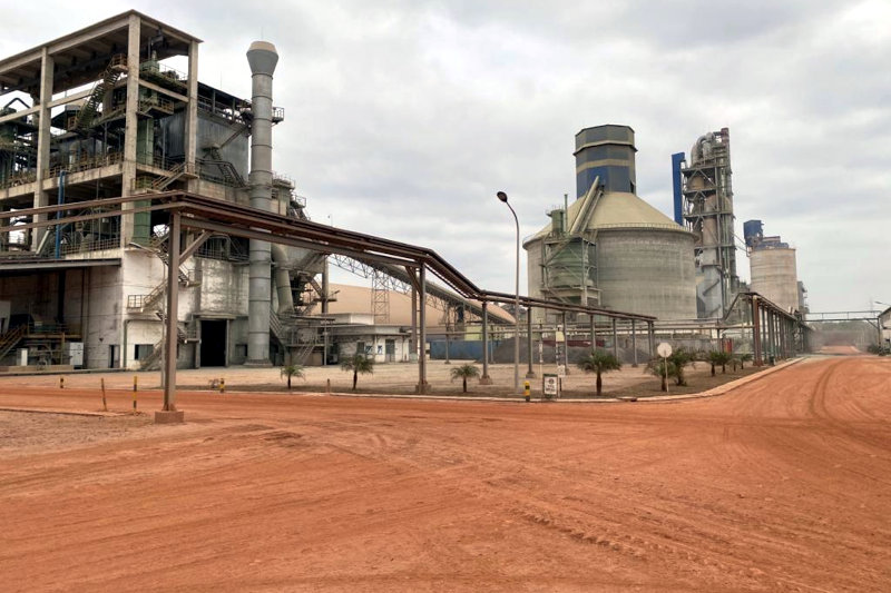PPC Barnet DRC's cement factory.
