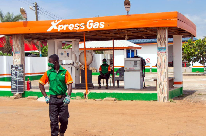 Xpress Gas owns three LPG refill stations and serves a network of 53 third-party-owned stations across all the regions of Ghana.