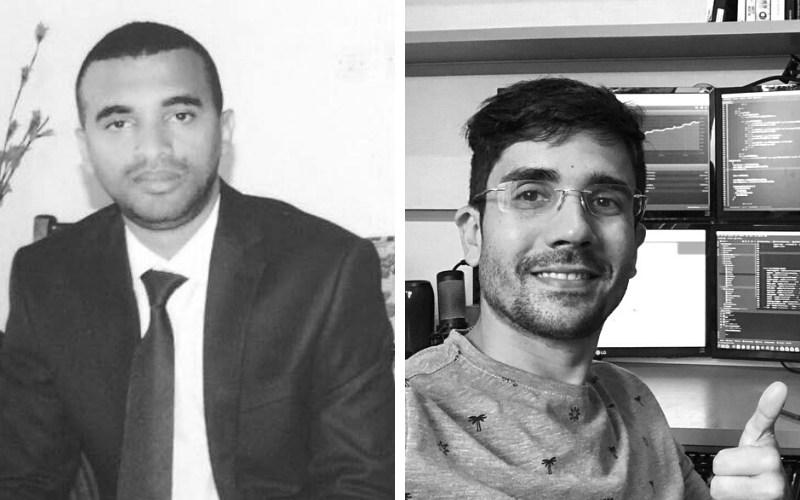Wala co-founders Robel Yemane (left) and Leo Hermoso