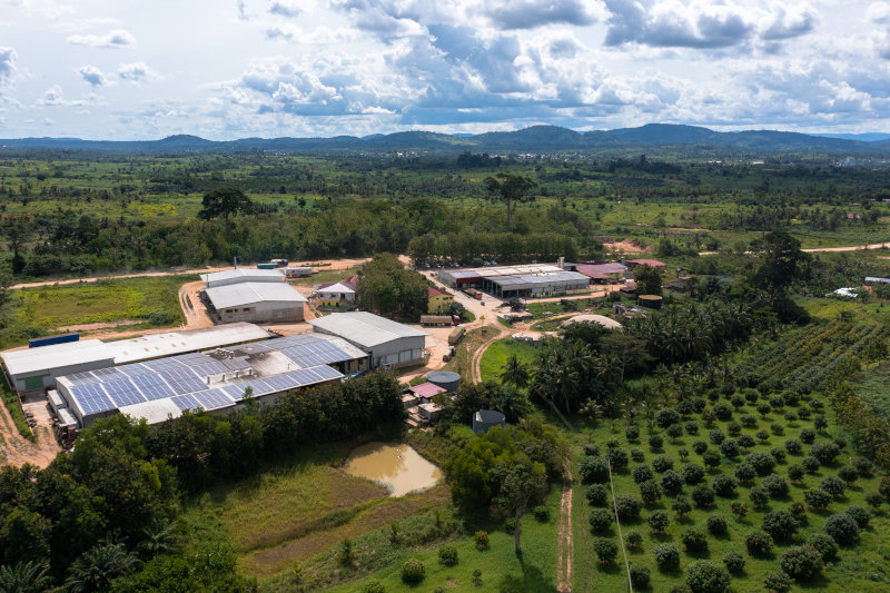 HPW's factory in Ghana.